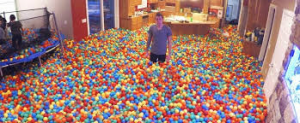 house ball pit